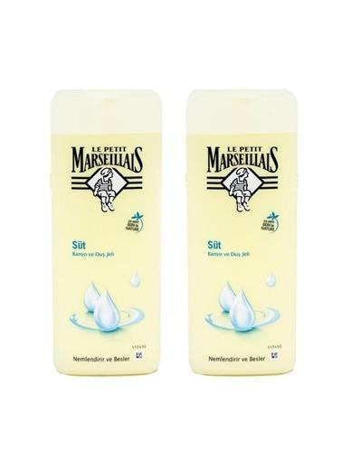 LPM Le petit marseillais 2x400 kolay kullanım süt kokulu duş jeli Renksiz